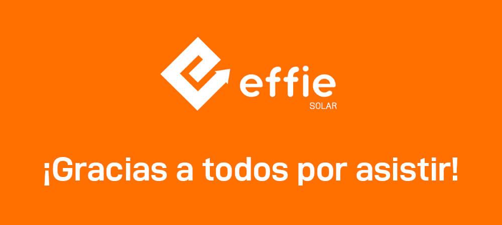 Primera edición de la Feria Virtual Effie Solar 2020