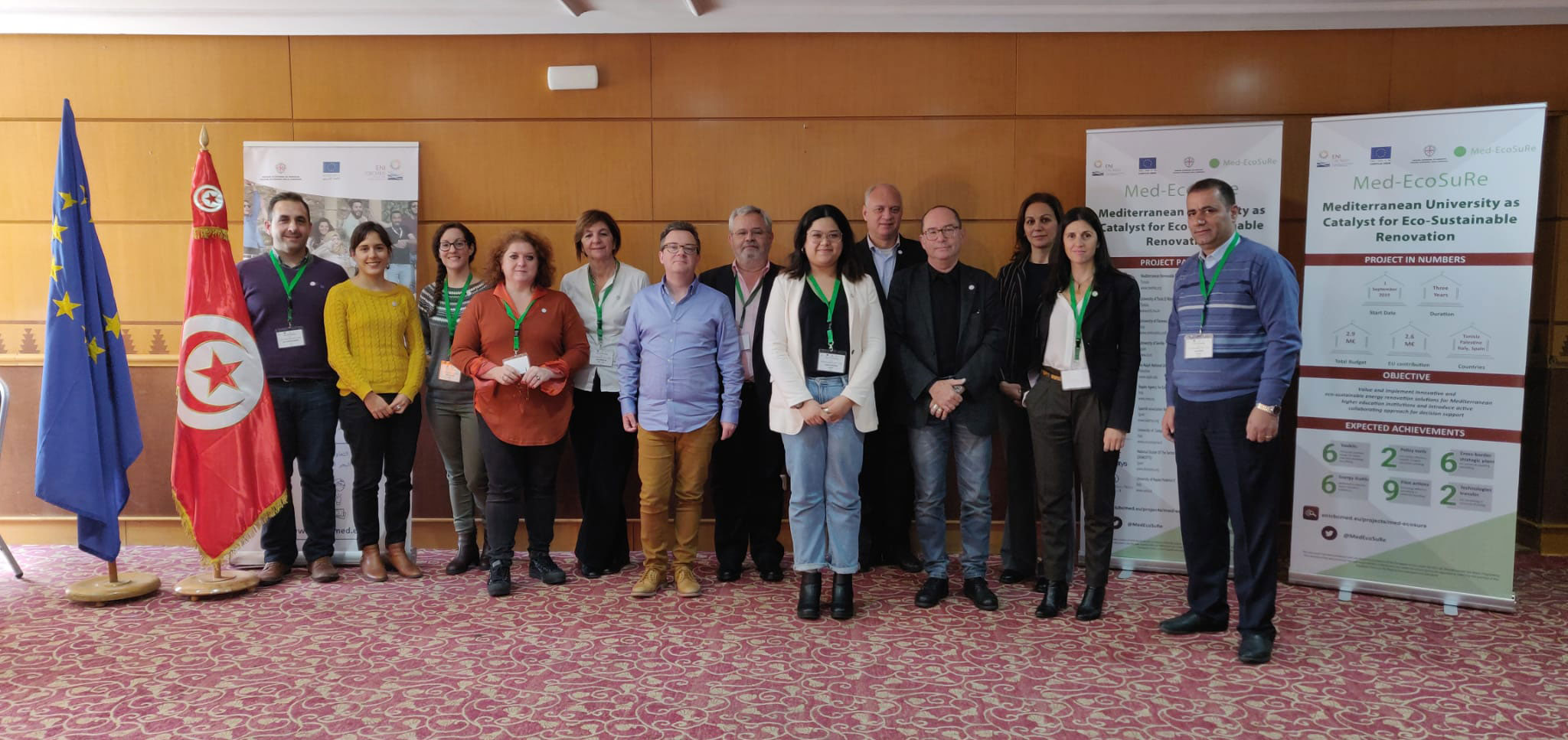 Kick off meeting en Túnez del Proyecto Europeo Med-EcoSuRe