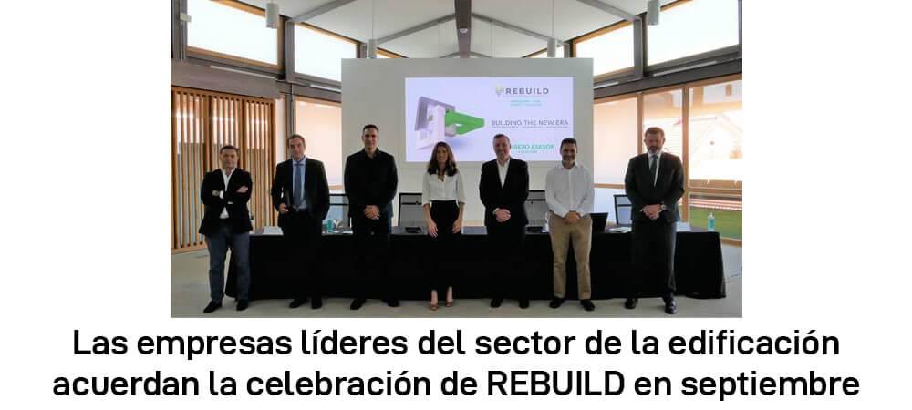 La edificación retoma su participación en ferias con REBUILD 2020